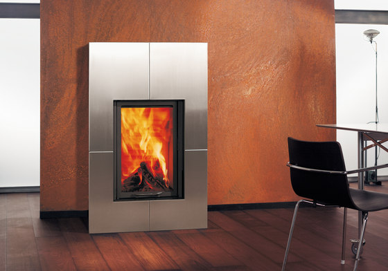 Irony Fireplace 3 by Austroflamm | Wood fireplaces