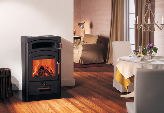 Pallas Back by Austroflamm | Wood burning stoves