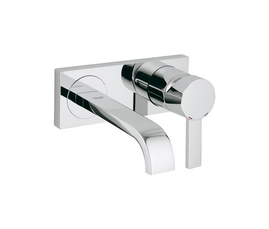 Allure Two-hole basin mixer by GROHE | Wash-basin taps