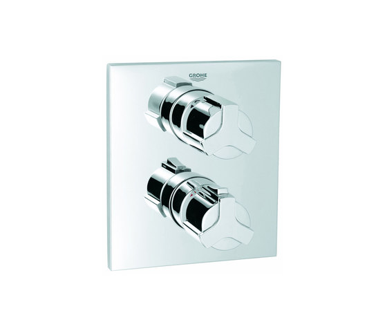 Allure Thermostat with integrated 2-way diverter by GROHE | Bath taps