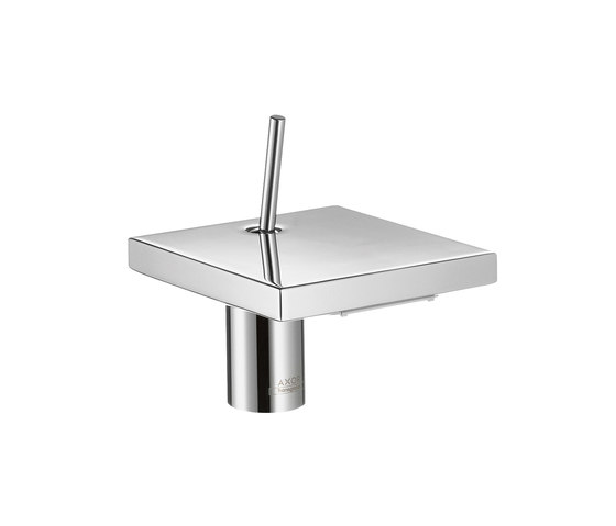 AXOR Starck X Single Lever Basin Mixer 100 without pull-rod DN15 by AXOR | Wash-basin taps