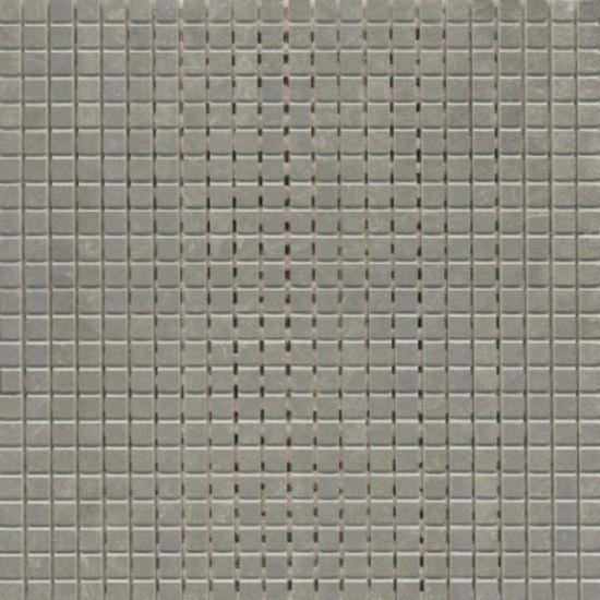 Mosaico Deba 30x30cm Pulido Antracita by Saloni | Ceramic mosaics