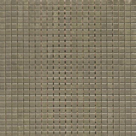 Mosaico Alcor 30x30cm Pulido Bronce di Saloni | Mosaici
