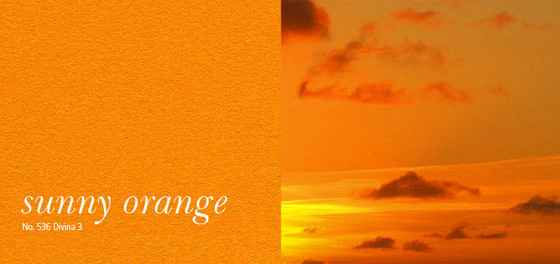 sunny orange | 536 by acousticpearls | Wall panels