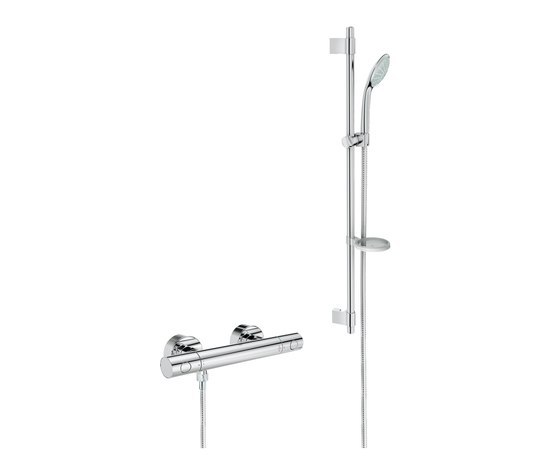 Grohtherm 1000 cosmopolitan by grohe thermostat shower for Grohe cosmopolitan 1000 thermostat