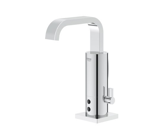 "Electronic faucets | Infra-red electronic basin mixer 1/2"" with mixing device by GROHE 