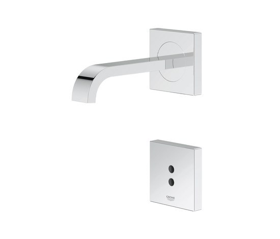 "Electronic faucets | Infra-red electronic basin mixer 1/2"" wall mounted de GROHE 