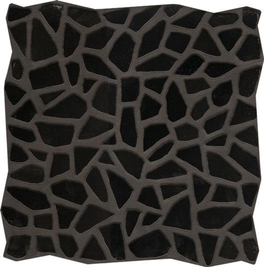 Gemme Del Golfo Nero 34x34 by Savoia Italia S.p.a | Floor tiles
