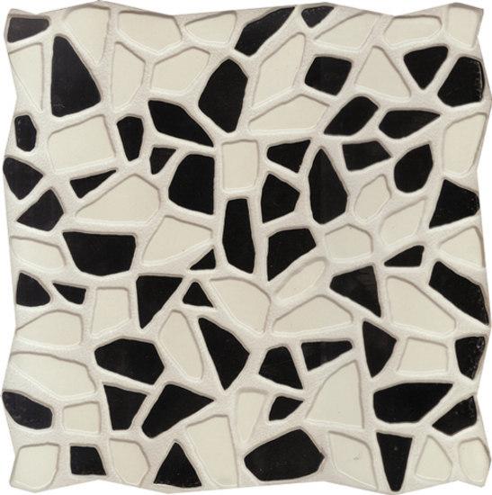 Gemme Del Golfo Bianco e Nero 34x34 by Savoia Italia S.p.a   Floor tiles