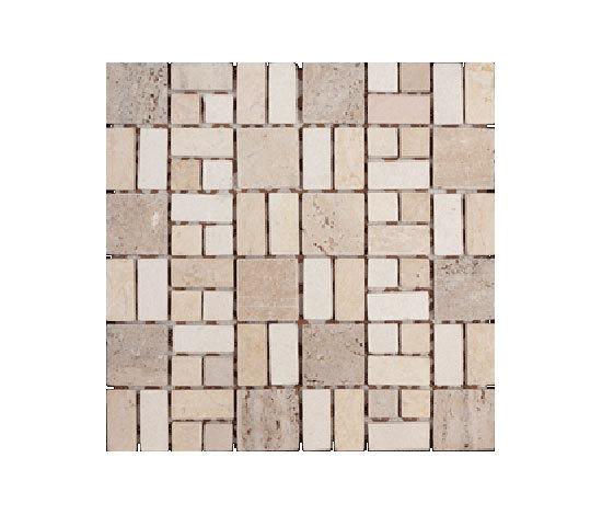 Petra Makalu mosaic by vitrogres | Natural stone mosaics