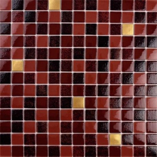 Titanium Verdi-TZ by vitrogres | Glass mosaics