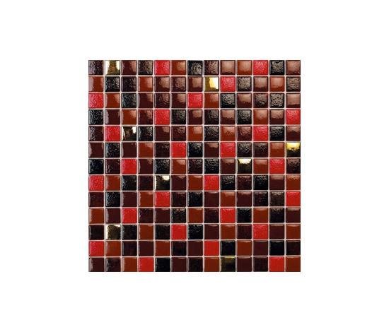 Titanium Joplin-TZ by vitrogres | Glass mosaics