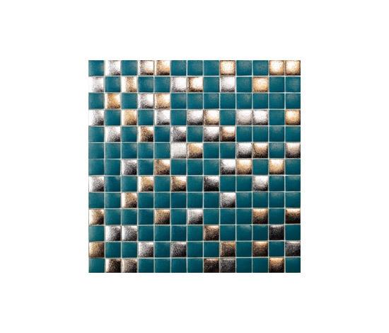 Titanium Hendrix-TZ by vitrogres | Glass mosaics