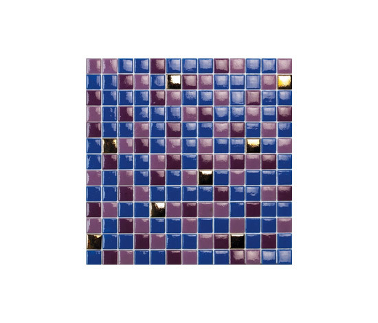Titanium Cobain-TZ by vitrogres | Glass mosaics