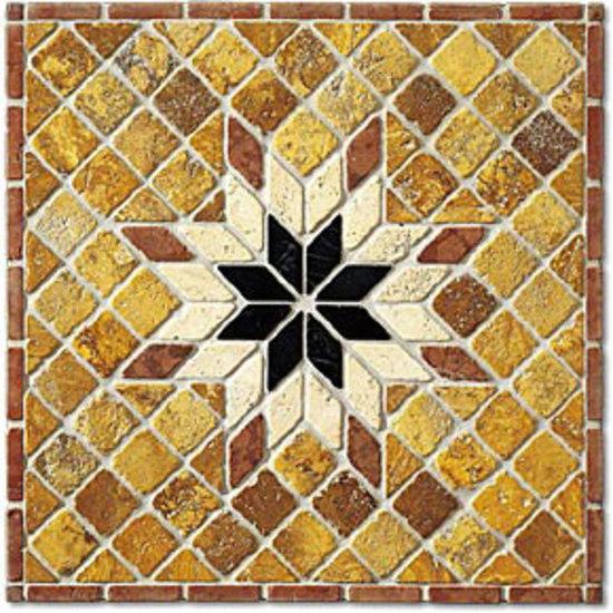 SER112 marble mosaic by I Sassi di Assisi | Natural stone mosaics