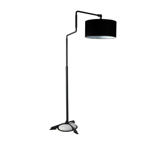 Swivel floor black by Functionals | General lighting