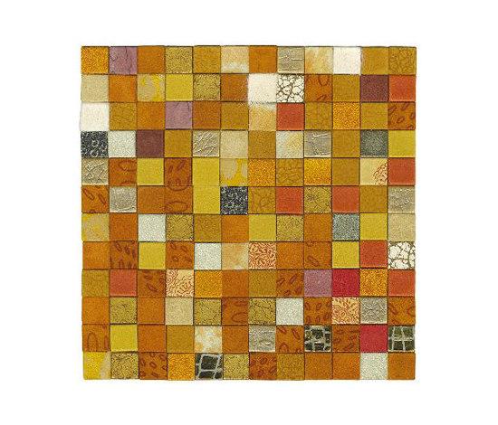 Forza del Colore arancio de Studio Art | Mosaïques en cuir