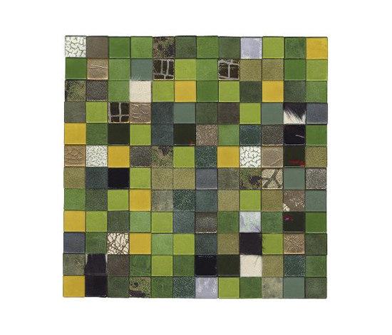 Forza del Colore verde de Studio Art | Mosaïques en cuir