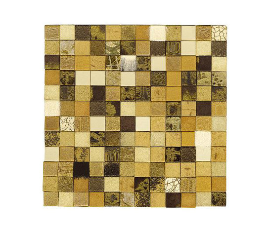 Forza del Colore oro by Studio Art | Leather mosaics