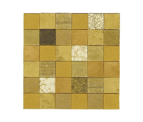 Forza del Colore oro de Studio Art | Natural leather mosaics