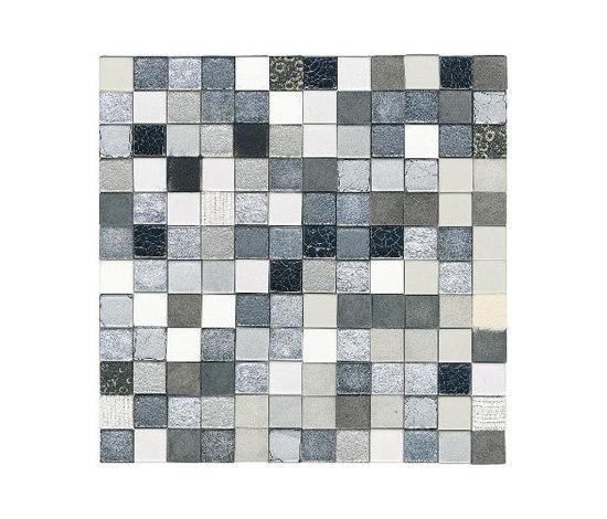 Forza del Colore argento de Studio Art | Mosaïques en cuir