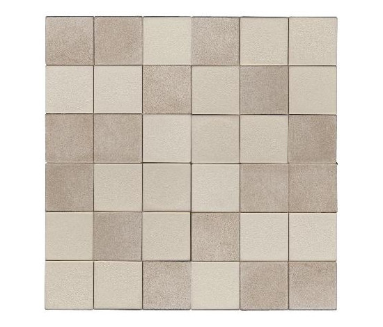 Opaco lucido beige by Studio Art | Leather mosaics