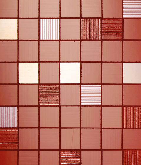Texture rivestimenti bagno idea creativa della casa e - Piastrelle bagno rosse ...
