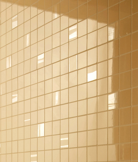 Intensity Honey Mosaic Square by Atlas Concorde | Ceramic mosaics