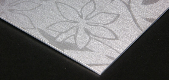 Flower | 100 by Inox Schleiftechnik | Metal sheets / panels
