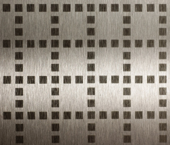Square mosaic | 240 by Inox Schleiftechnik | Sheets