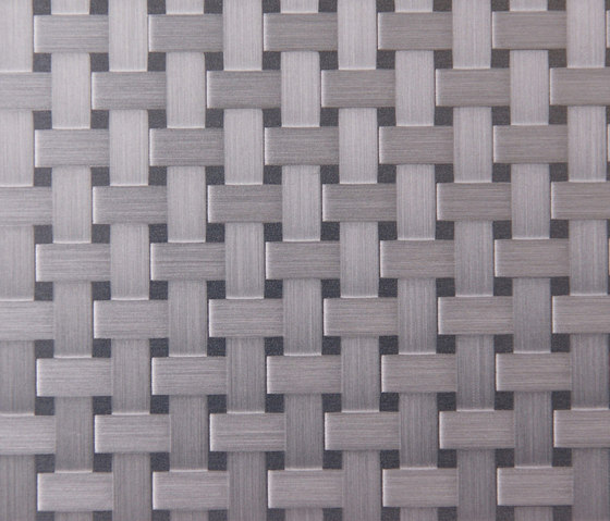 Carbon | 120 by Inox Schleiftechnik | Metal floor tiles