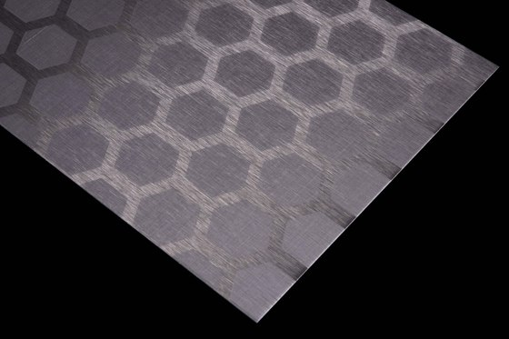 Aluminium | 200 | Honeycomb by Inox Schleiftechnik | Metal sheets