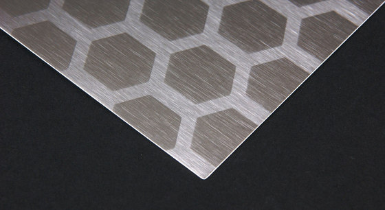 Honeycomb | 200 by Inox Schleiftechnik | Sheets