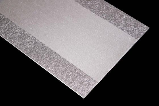 Aluminium | 320 | Streifen von Inox Schleiftechnik | Metall Bleche