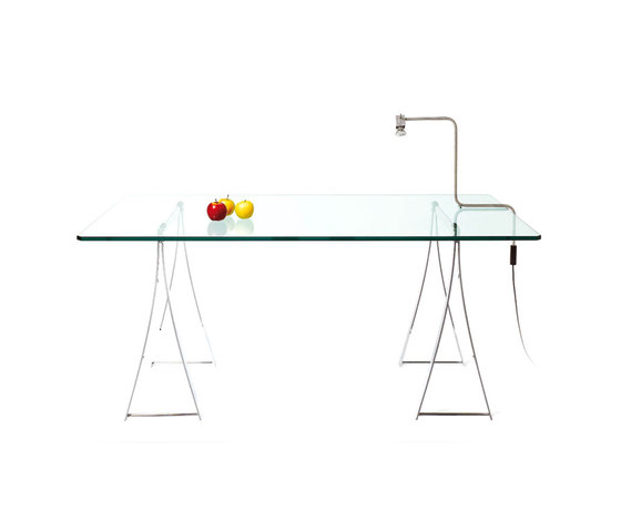 T 07 trestle table by Ghyczy | Desks