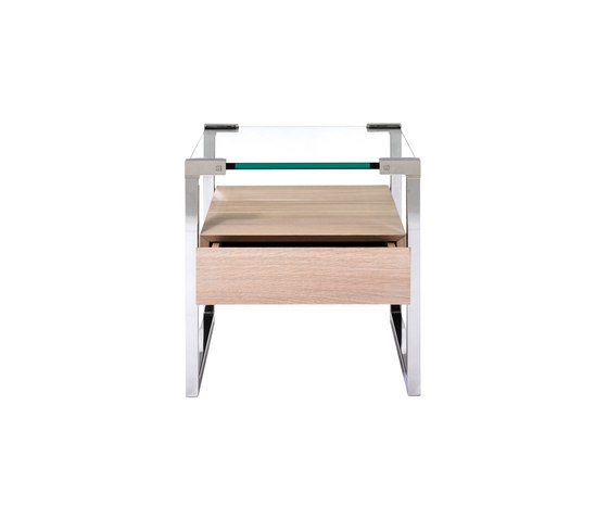 Pioneer T53L Side table di Ghyczy | Comodini