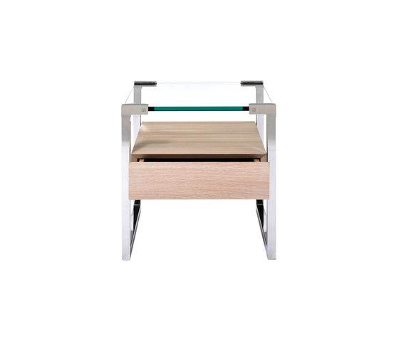 Pioneer T53L Side table de Ghyczy | Tables de chevet