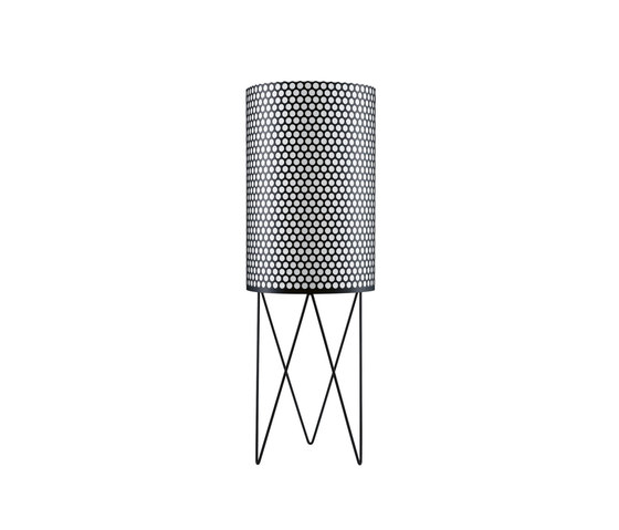 Pedrera PD2 Floor lamp | Black by GUBI | General lighting