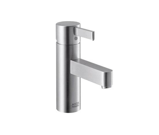 AXOR Steel Single Lever Basin Mixer by AXOR   Wash-basin taps