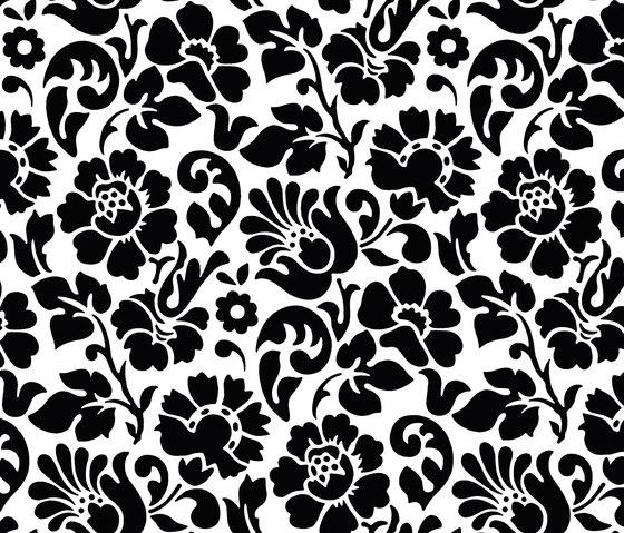 Decors | Structures Barock black de Hornschuch | Láminas de plástico