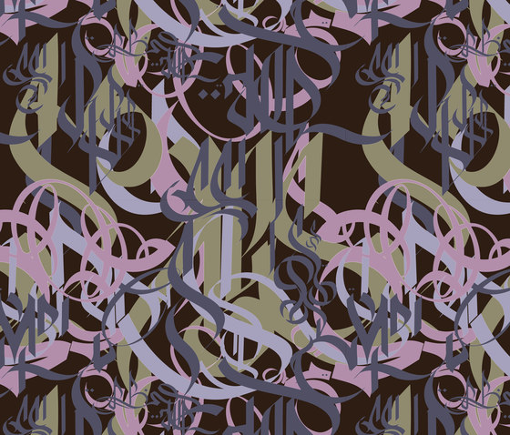 Mr. Ino 1981-2 by Tres Tintas Barcelona | Wall coverings / wallpapers