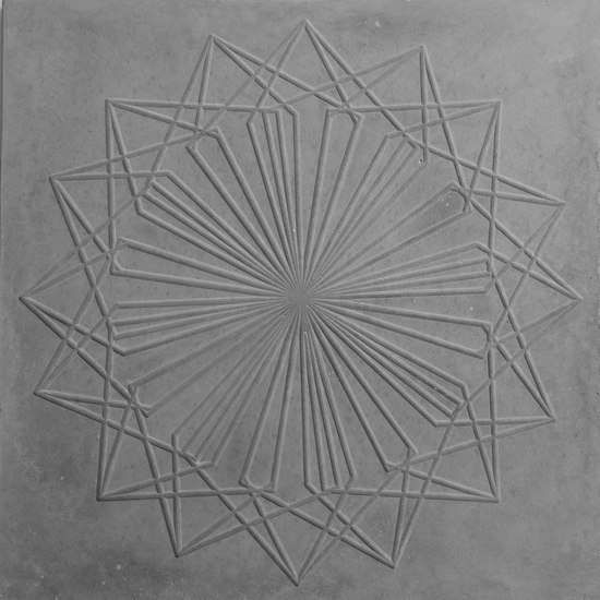 Web Centre Tile de The Third Nature | Floor tiles