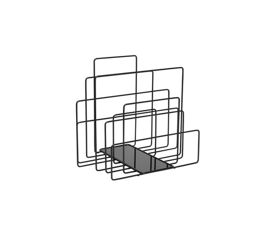 Random magazin holder by Covo | Waste baskets