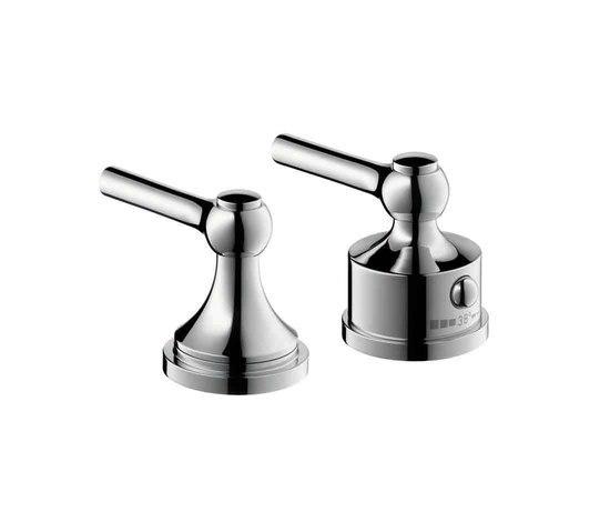 AXOR Terrano 2-Hole Thermostatic Bath Mixer by AXOR | Bath taps