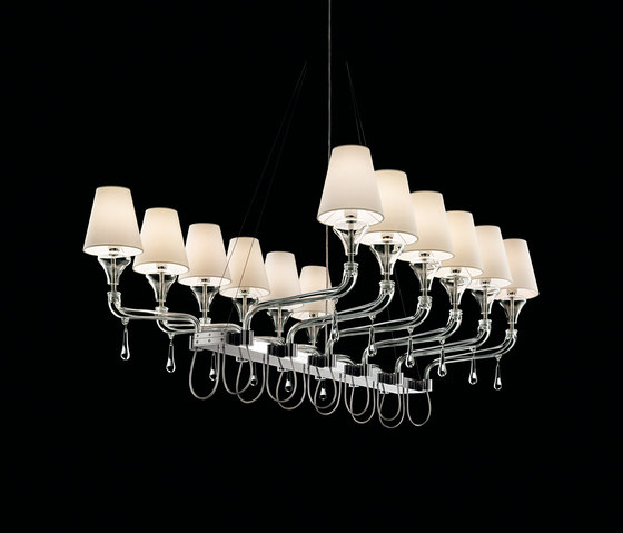 Domo Nevada by Barovier&Toso | Ceiling suspended chandeliers