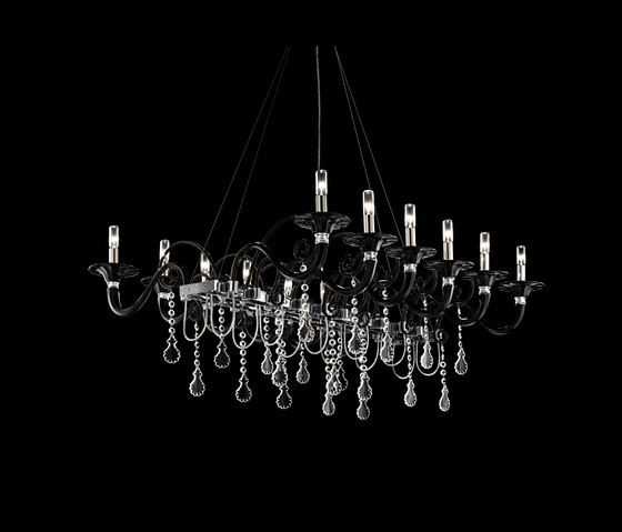 Mood Taif by Barovier&Toso | Ceiling suspended chandeliers