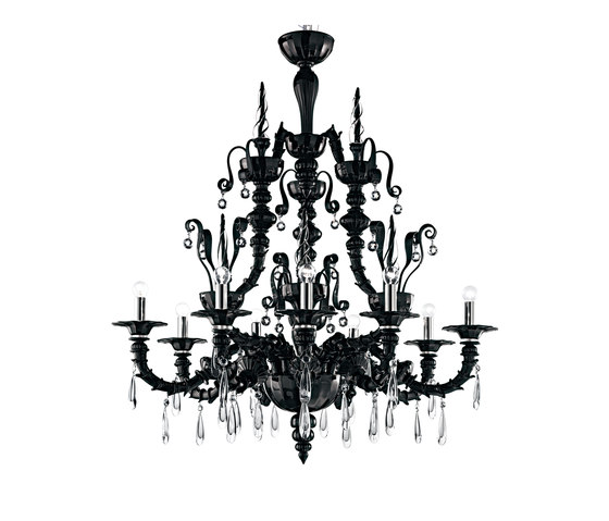 Dhamar by Barovier&Toso | Ceiling suspended chandeliers