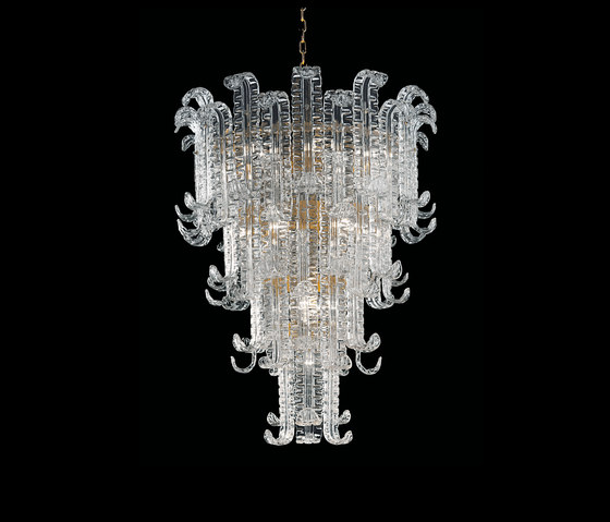 Felci by Barovier&Toso | Ceiling suspended chandeliers