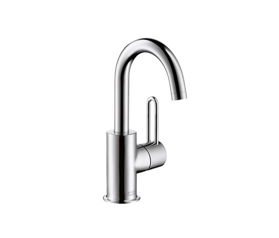 AXOR Uno Single Lever Basin Mixer for hand basins with high swivel spout DN15 by AXOR | Wash-basin taps