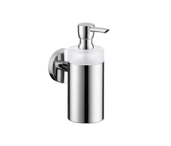 Hansgrohe Logis Glass Lotion Dispenser by Hansgrohe | Soap dispensers